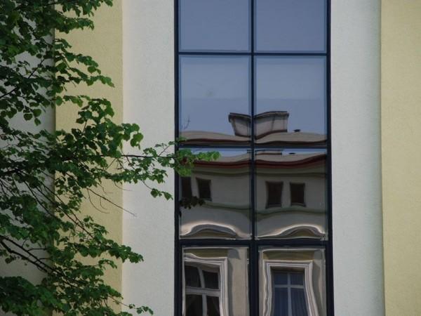 prostokątne okna
